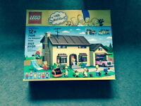Simpsons House Lego, Brand New in Box Never Opened