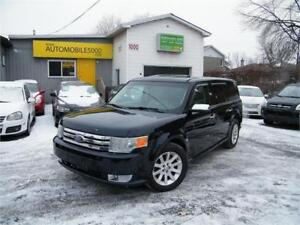 2009 Ford Flex SEL AWD CUIR. 7 PASSAGERS . DVD