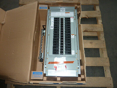 New Eaton Prl2-a 2a Pow-r-line Main Circuit Breaker Board With 30 Breakers 600a