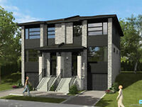 New Semi-Detached for Sale in Pointe-Claire.