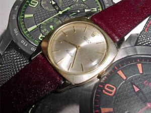 SWISS AUTHENTIC SOLID GOLD ROLEX CELLINI UNISEX WATC