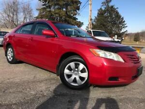 2007 Toyota Camry LE,PL,PW,AC,RADIO,CD PLAYER CERTIFIED