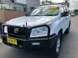 2012 Toyota Landcruiser Prado KDJ150R 11 Upgrade GX (4x4) White 5 Speed Sequential Auto Wagon Waratah Newcastle Area Preview