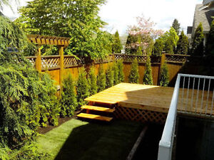 ★ SAVE $s ON UR DECK & FENCE. Also drywall,repairs, painting ★
