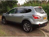 2010 Nissan Qashqai+2 2.0 DCI DIESEL 7 SEATS SatNav HPI CLEAR