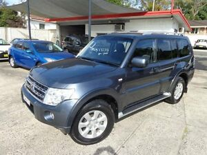 2010 Mitsubishi Pajero NT MY10 GLS LWB (4x4) Blue 5 Speed Auto Sports Mode Wagon Sylvania Sutherland Area Preview