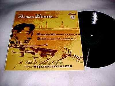 MILSTEIN Mendelssohn, Bruch Concertos w/Steinberg NM Capital P8243