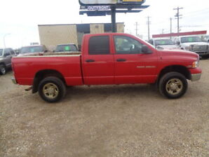 2005 DODGE RAM 2500HD SLT -4X4-ONE OWNER TRUCK-5.7L V8 HEMI