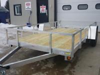 All aluminum, no rust 6 x 12 utility trailer - single axle 2015