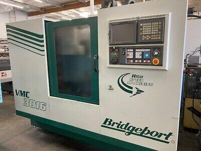 Bridgeport Vmc 3016 Cnc Vertical Machining Center
