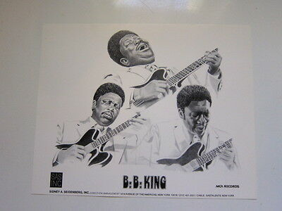 BB KING 8x10 photo b