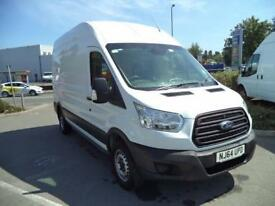 Ford Transit L3 H3 2.2 Tdci 125Ps Van Euro 5 DIESEL MANUAL WHITE (2014)