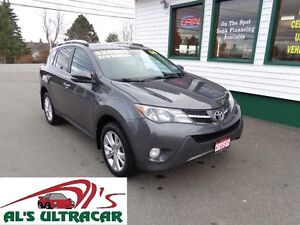 2014 Toyota RAV4 Limited 4x4 for only $219 bi-weekly all in!