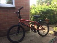 BMX style childs bike