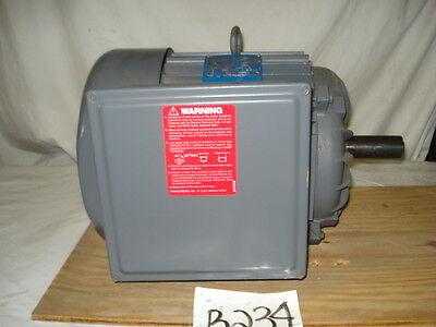 Magnetek farm motor K310, 5hp, 1750rpm, 213T, 230vac, 1 phase, Century, AO Smith