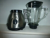 Haden glass jug blender/ 1600 ml jug