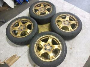 Subaru Wrx STi V5 5x100 Wheels