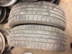 2 PNEUS / 2 ALL SEASON TIRES 225/65/16 GOODYEAR ASSURANCE