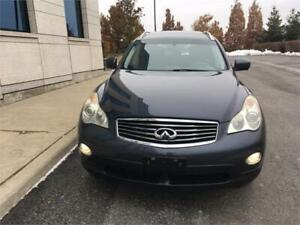 2009 Infiniti EX35 AWD, Leather, Navigation, Certified