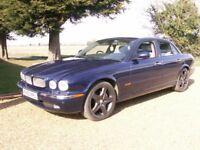 jaguar xj sport v6 petrol alloy body service history .2003 pampered stunning. 30 mpg . wedding car