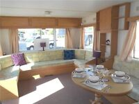 3 bed caravan for sale at naze marine holiday park, 12 month owner season LIMITED PITCHES