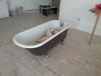 3 Bains sur pattes antique/baignoires sur pieds à 125$ chaque