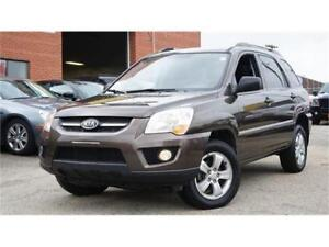 *2009 KIA SPORTAGE AWD * FULLY INSPECTED * WINTER TIRES *