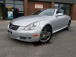 2007 Lexus SC 430 NAVIGATION  POWER HARD TOP CONVERTIBLE!!!