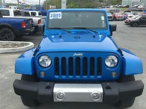 2015 Jeep WRANGLER SAHARA WITH DUAL TOPS