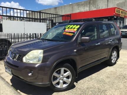 2008 Nissan X-Trail T31 AUTOMATIC ST-L 4X4 Brown 6 Speed Auto Sequential Wagon