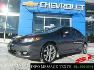 2012 Honda Berline Civic Si