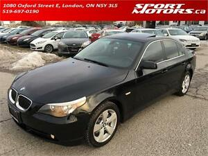 2006 BMW 525xi! New Brakes! Heated Seats & Steering Wheel! A/C!