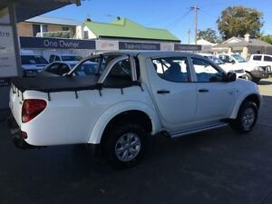 2012 Mitsubishi Triton MN MY12 GL-R White 4 Speed Automatic 4D UTILITY Hamilton Newcastle Area Preview