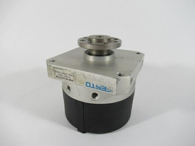Festo DSM-40-270-P-FW Rotary Actuator U602 10Bar 145Psi USED