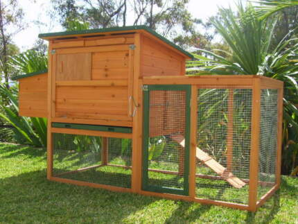 Somerzby Chicken coop BUNGALOW Rabbit Hutch Guinea Pig cage run