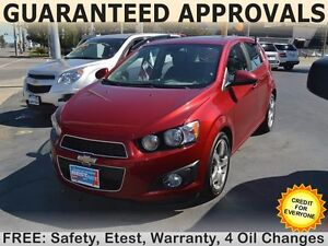 2012 Chevrolet Sonic LT, SUNROOF, BLUETOOTH, yours for $48/week