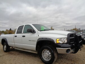 2003 DODGE RAM 2500HD-ST-4X4-5.7L V8 HEMI POWER-8'-LONG BOX