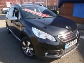 15 PEUGEOT 2008 CROSSOVER 1.6e-HDi ALLURE//SNAV//£20 A YEAR ROAD TAX//
