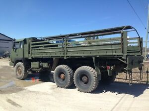 1989 UTDC H807 PERCHERON 6X6 Personnel Carrier Army Truck