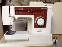 Singer Sewing Machine 6104 with hard case