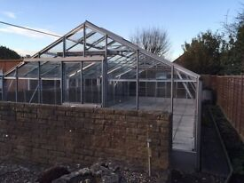 30' x 15' (approx) greenhouse - RRP £8k, selling for just £1,500 - buyer to collect)