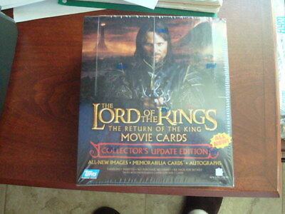 Lord of the Rings  Return of the King Update Edition 36 pack sealed Box