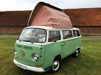 1972 4 Berth VW T2 Camper Van