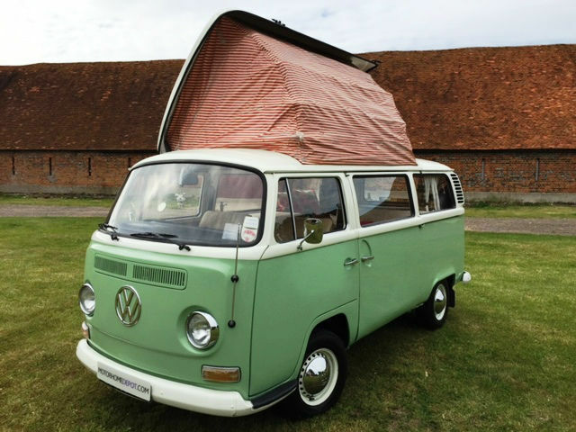 1972 4 berth vw t2 camper van in reading berkshire. Black Bedroom Furniture Sets. Home Design Ideas