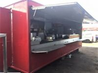 23ft Catering trailer