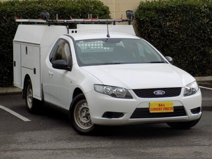 2010 Ford Falcon FG Ute Super Cab White 4 Speed Automatic Utility Blair Athol Port Adelaide Area Preview