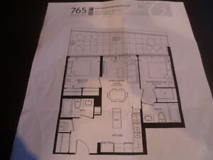 Downtown Kitchener, 2BR 17th. floor Penthouse, CityCentre 4 Sale