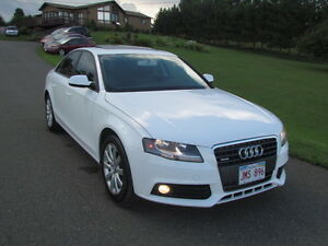 2012 Audi A4 AWD! SUNROOF! HEATED LEATHER! 83KMS! MINT! WARRANTY