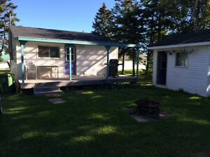 2 Bedroom plus Bunkhouse Cottage Heather Beach Port Howe, NS