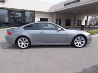 2004 54 BMW 645CI 4.4 COUPE GREY AUTO(CHEAPER PART EX WELCOME)